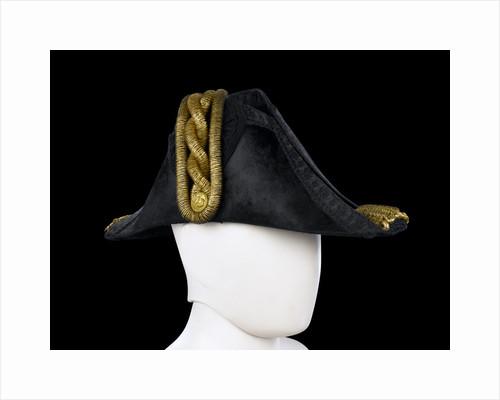 Cocked hat, Royal Naval uniform: pattern 1843 by John Adams & Son