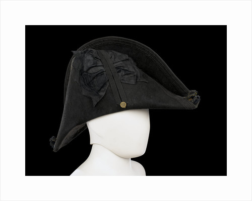Cocked hat, Royal Naval uniform: pattern 1825 by unknown
