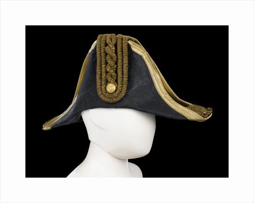 Cocked hat, Royal Naval uniform: pattern 1843-1879 by Christy's
