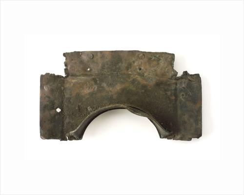 Fragments of copper sheet by unknown