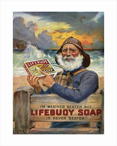 'Lifebouy Soap' advertisment leaflet by unknown
