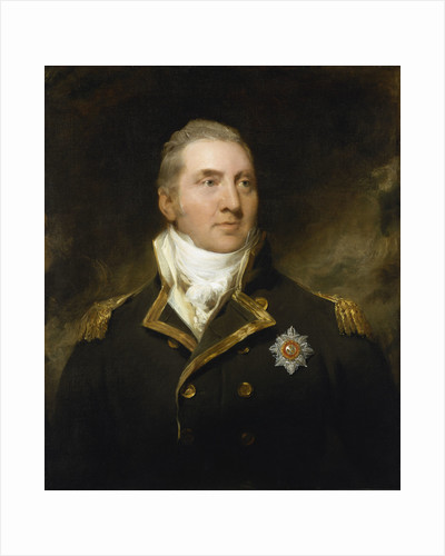 Sir Edward Pellew, Lord Exmouth (1757-1833) by Thomas Lawrence