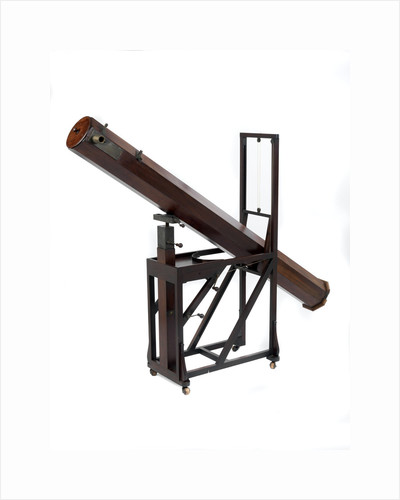7-foot Newtonian (reflector) telescope by William Herschel