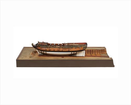 Fireship, port broadside by unknown