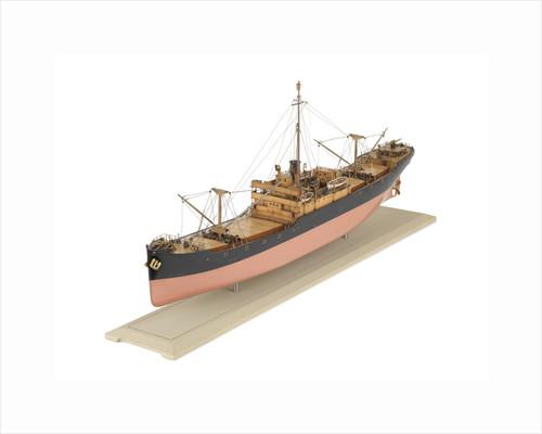 Standard D-type cargo ship, port 3/4 bow by S.P. Austin & Sons Ltd.