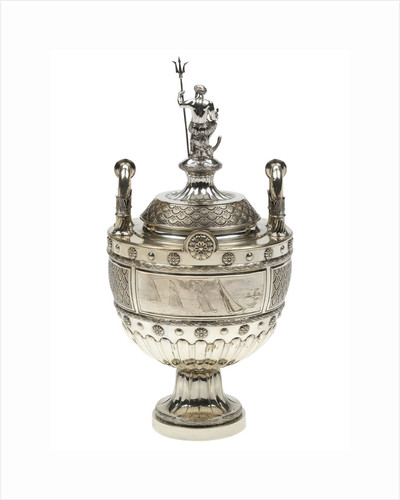 Yachting trophy won by 'Valkyrie', 1891 by Edgar Finley