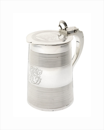 Tankard commemorating the ship 'Integrity' by George Smith