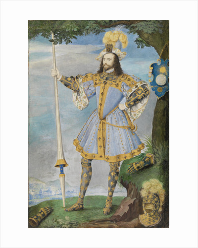 George Clifford, 3rd Earl of Cumberland (1558-1605) by Nicholas Hilliard