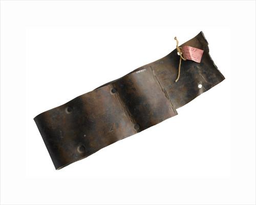 Copper strip by unknown