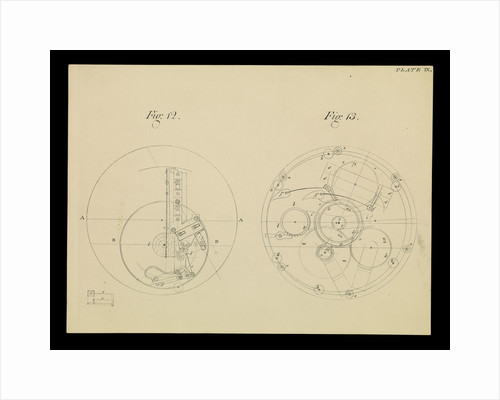Figure 8 of 10 relating to Harrison's 4th marine timekeeper taken from 'The Principles of Mr Harrison's Timekeeper' (1767) by unknown
