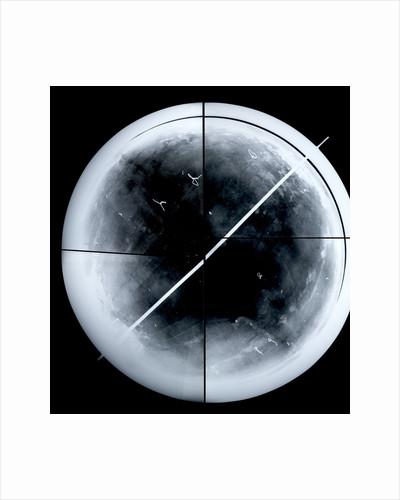Globe x-ray by Gerard Mercator