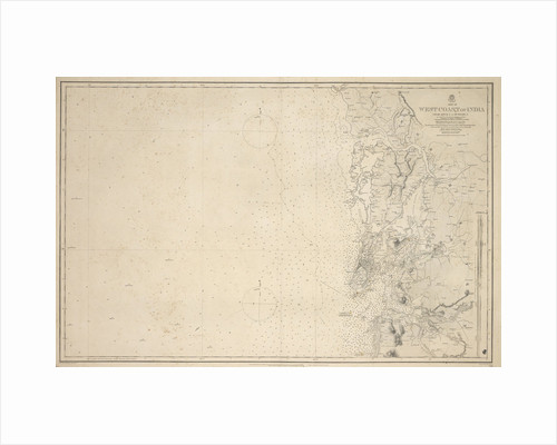 Chart of Arnola Island, 1884 by unknown