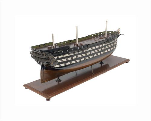 110-gun first rate HMS 'Queen' (1839) by unknown