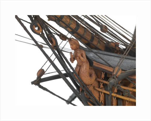 Model of 'Sirene' (1823); French; Frigate; 52 guns by unknown