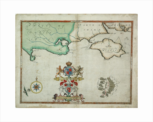 The battle off the Isle of Wight on 4 August, 1588 by Robert Adams