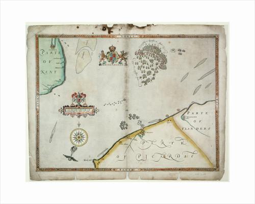 The Battle off Gravelines, 8 August 1588 by Robert Adams