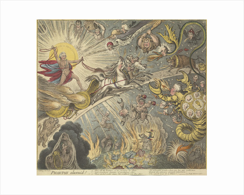 Phaeton alarm'd by James Gillray