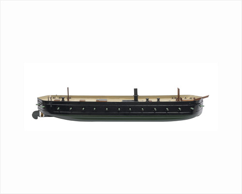 Floating battery HMS 'Thunderbolt' (1856) by Samuda Brothers