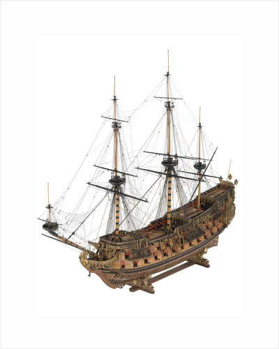 Model of 'Naseby', 80-86-guns by Robert Spence