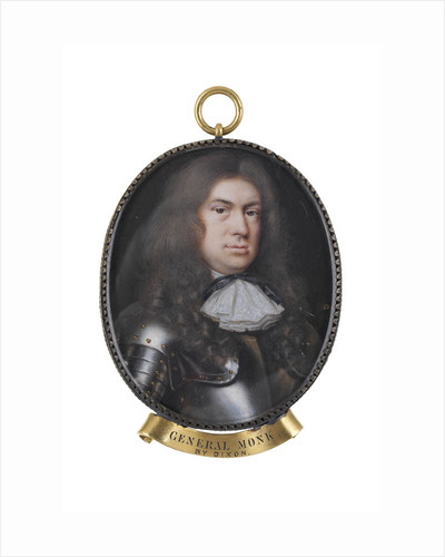 A 17th century commander called George Monck, Duke of Albemarle (1608-1670) by Nicholas Dixon