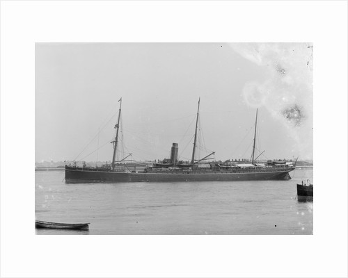 The 'Bengal' (Br, 1885) at anchor by unknown