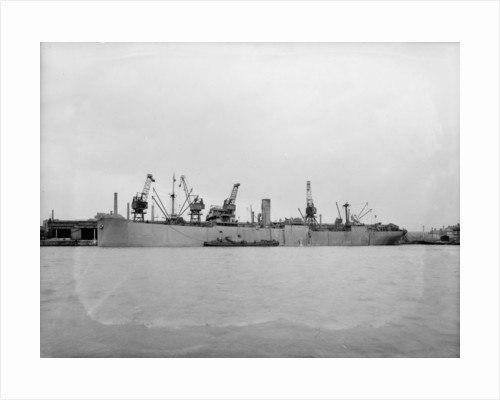 'Anglo African' (Br, 1929), at quayside, Liverpool by unknown