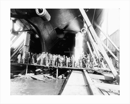 Battleship HMS 'Orion' (1910) by unknown