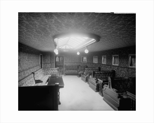 First Class Smoking Room of the 'Australia' (1892) by Bedford Lemere & Co.