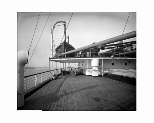 Third Class Promenade on the 'MIssanabie' (1914) by Bedford Lemere & Co.