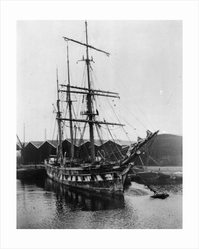 'Ferreira' (1869) at the Albion Dock at Surrey Commercial Docks, London by unknown