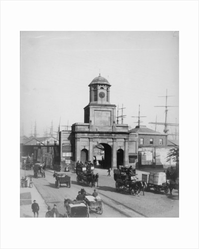 Original Entrance to the East India Docks by unknown