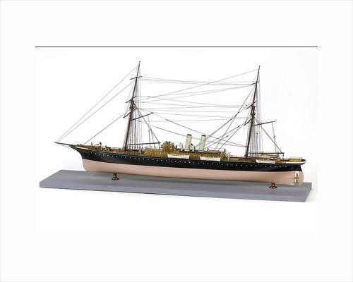 Passenger liner, port stern quarter by unknown