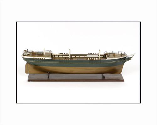 'J D Henwood', starboard broadside by E. Tarry Adams