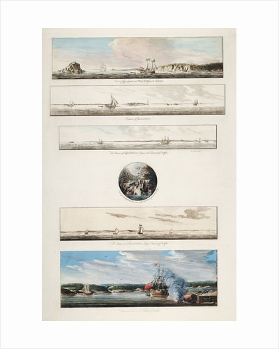 Views in the vicinity of Halifax by J. F. W. Des Barres