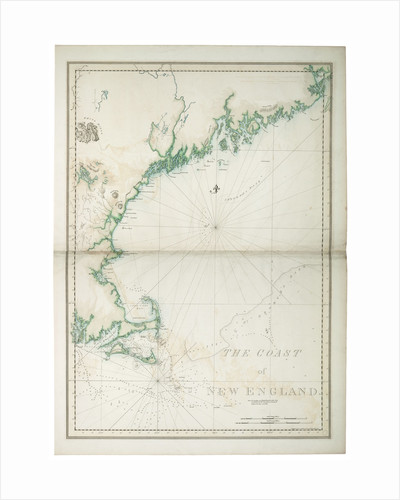The coast of New England, 1776 by Joseph Frederick Wallet Des Barres