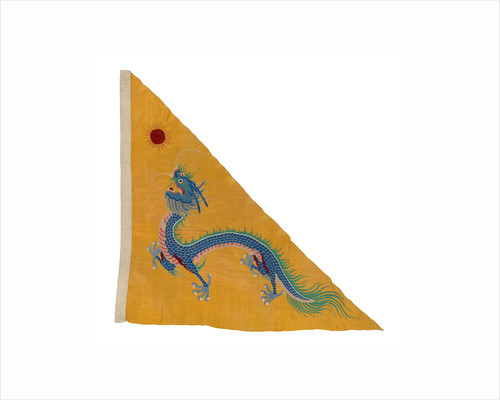 Imperial Chinese naval ensign (1866-1888) by unknown