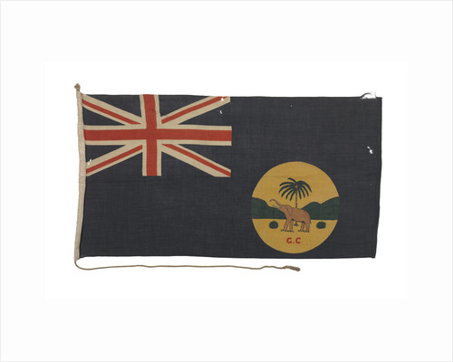 Blue Ensign of the Gold Coast by unknown
