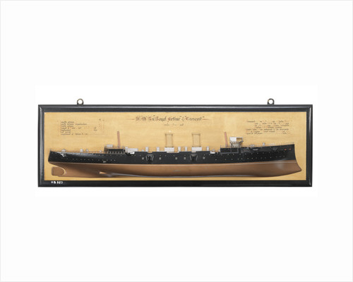 HMS 'Royal Arthur' (1891); HMS 'Cresent' (1892) by unknown