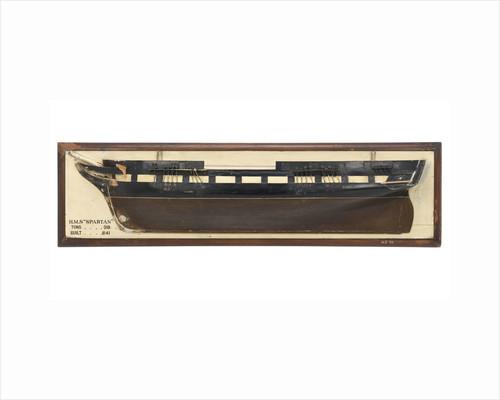 HMS 'Spartan' (1841) by unknown