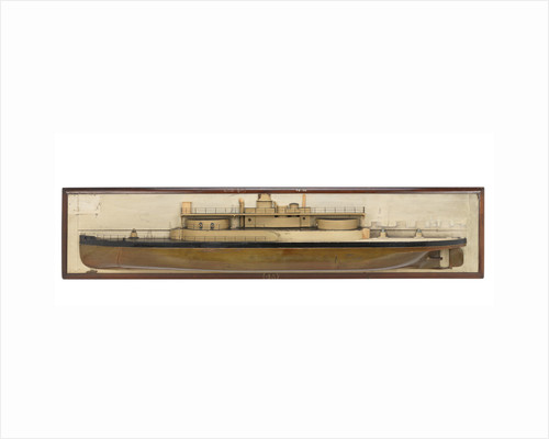 HMS 'Cerberus' (1868) by unknown