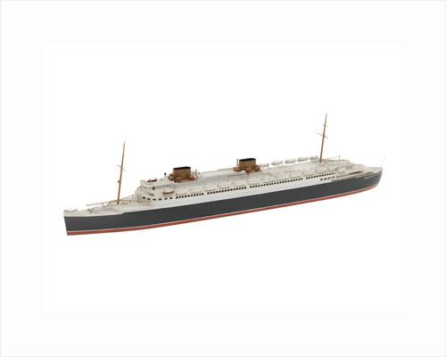 Waterline model; Miniature model by Bassett-Lowke Ltd