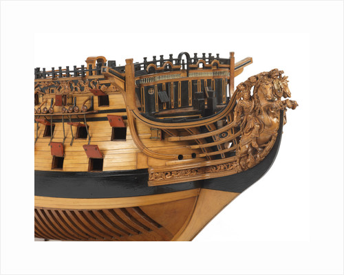 The first rate warship 'Royal William' (1719) 100-guns by unknown