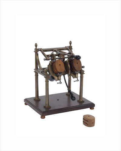 Scoring machine model by Marc Isambard Brunel