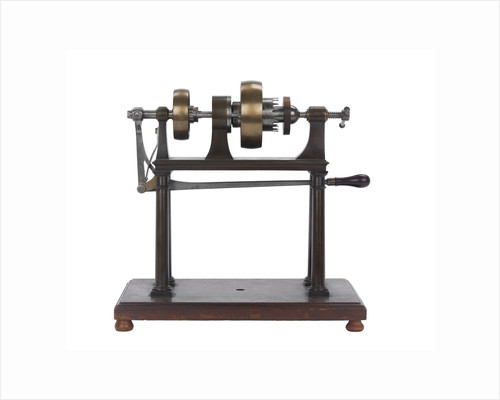 Rounding and drilling machine model by Marc Isambard Brunel