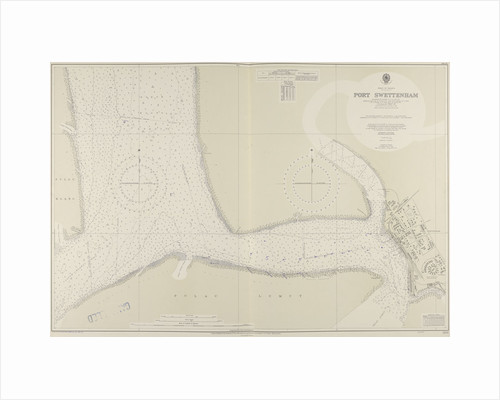 A chart of Port Swettenham by unknown