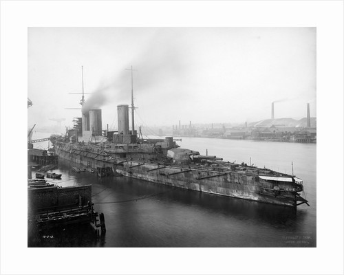 Battlecruiser HMS 'Queen Mary' (1912) by unknown