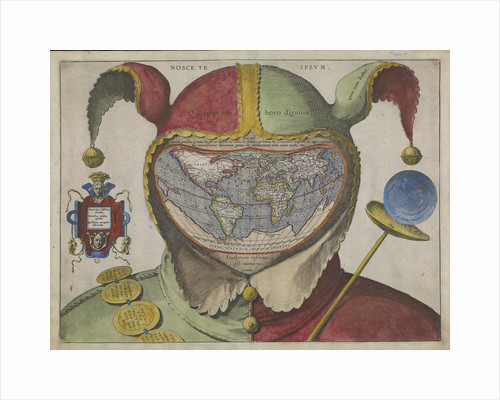 Fool's map of the world by Thomas Milton; Pierre Charles Canot