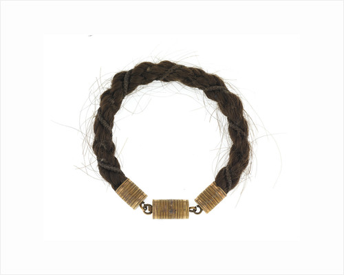 Hair bracelet by Anonymous