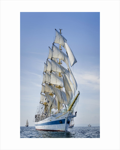 Russian full rigged ship 'Mir' at Waterford Tall Ships Race 2011 by Richard Sibley