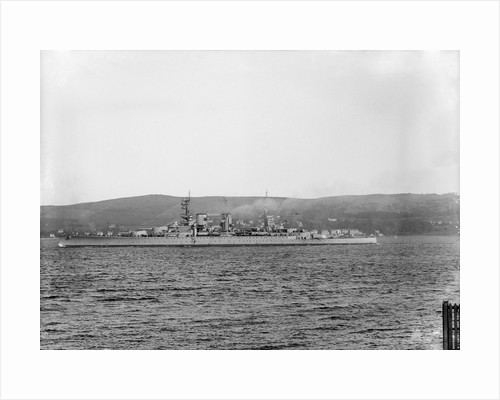Battlecruiser HMS 'Renown' (1916) by unknown